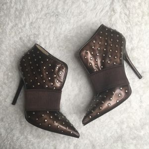 Marciano SZ 7.5 Luxury Studded Steampunk Booties